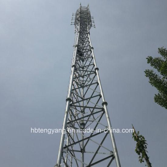3 Leg Steel Mobile GSM Telecommunication Tower