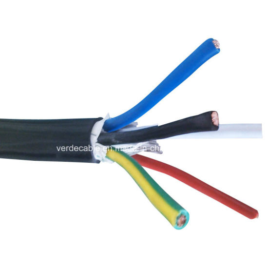 China 3phase PVC Insulated Cable 5 Core Electric Wire - China ...