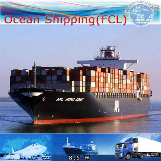 Ocean Shipping & Trucking Service, International Logistics by Sea (FCL 20′′40′′) pictures & photos