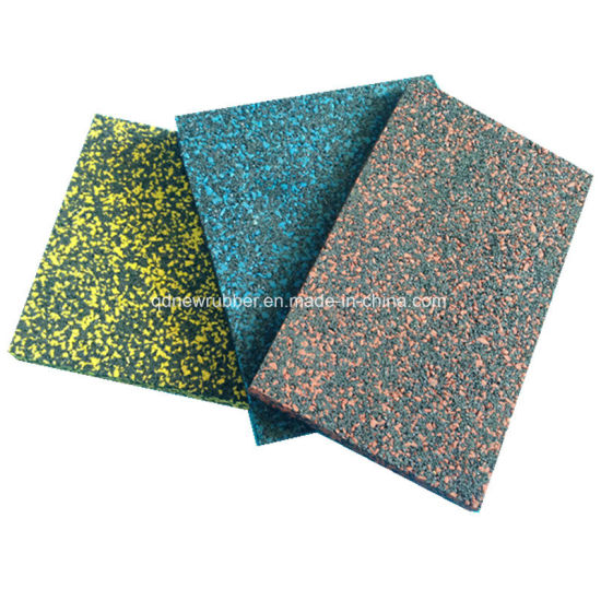 EPDM Rubber Floor Tiles for Fitness Flooring pictures & photos