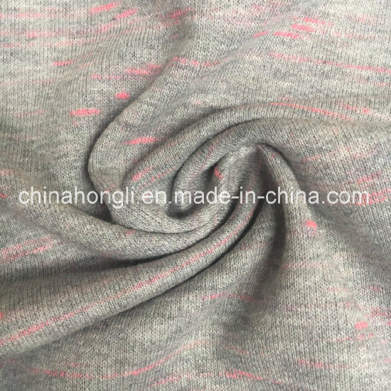 French Terry P/C 80/20, 270GSM, Space Dye Knitting Fabric for Winter&Spring Sweater