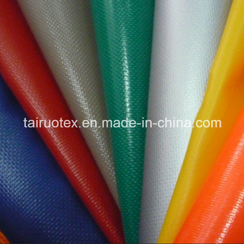 Waterproof PVC Coated Tarpaulin Fabric for Tent, Luggage Outdoor Wear pictures & photos