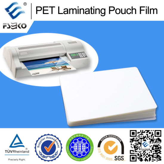 Pet Pouch Film for ID Card (UD150mic) pictures & photos