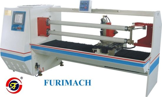 High Cutting Precision Single Shaft Auto Roll Cutting Machine /BOPP Tape, PVC, Masking Tape, Film Making Machine pictures & photos