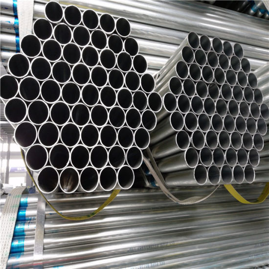 Q235 ASTM A500 Carbon Steel Pre Galvanized Steel Pipe