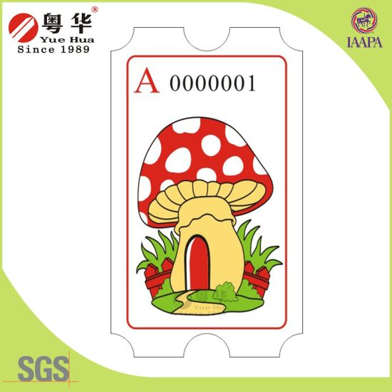 Yuehua Brand Wholesale Arcade Machine Ticket for Arcade Games pictures & photos