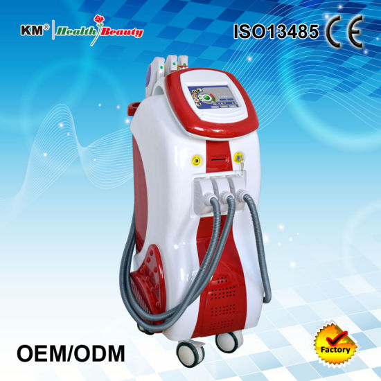 Multi-Functional Beauty Apparatus with Shr+Cavitation+YAG Laser pictures & photos