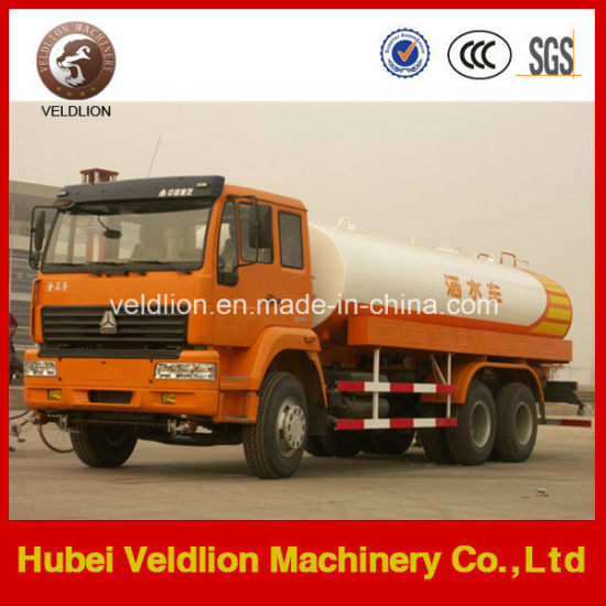 Sinotruk 4000 Gallons, 16, 000 Litres Water Tanker Truck pictures & photos
