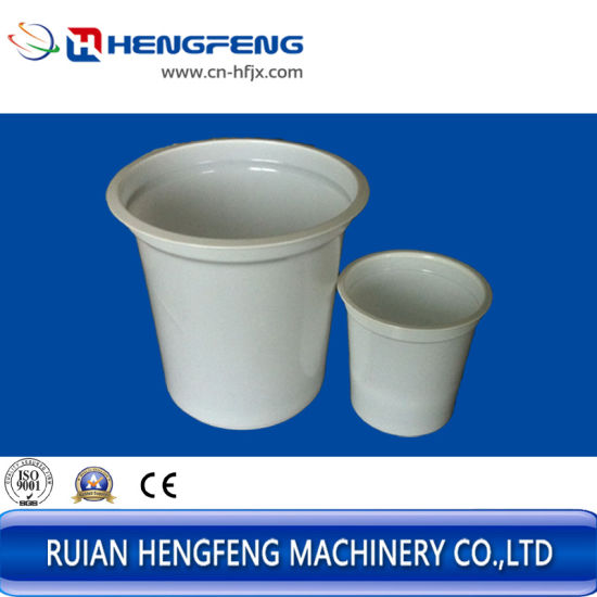 Plastic Cup Making Machine for PP/PS/Pet/etc Material (HFTF-70T-H) pictures & photos
