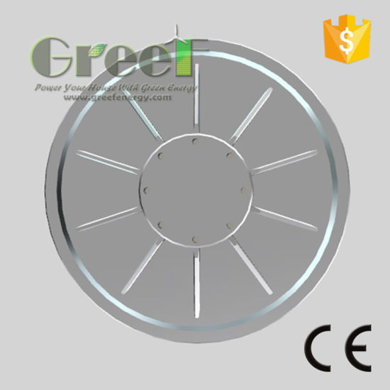 10kw 150rpm Low Rpm Low Torque Low Weight Coreless Permanent Magnet Wind Generator, Axial Flux Coreless Generator pictures & photos