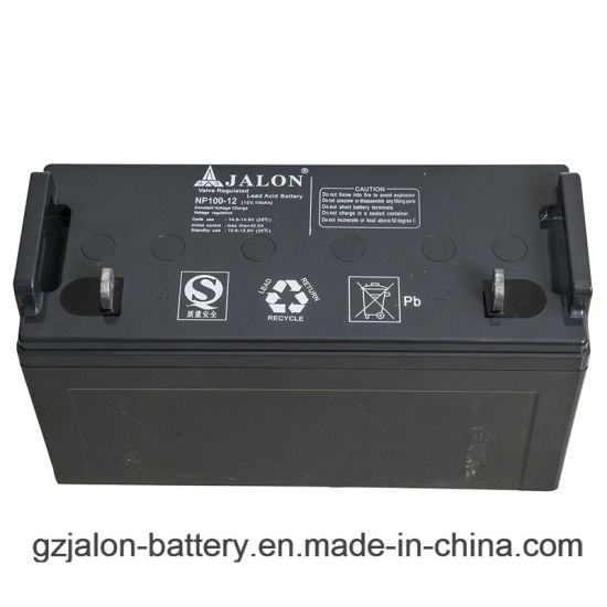 12V120ah Valve Regulated Sealed Acid AGM UPS Solar Battery