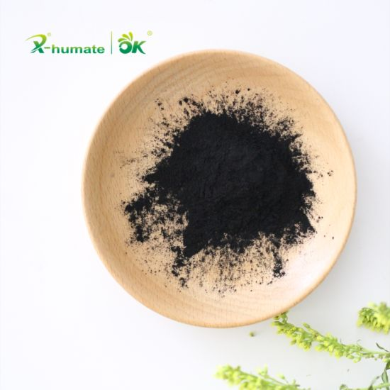 X-Humate Sagassum Source High Water Solubility Seaweed Extract for Organic Fertilizer pictures & photos