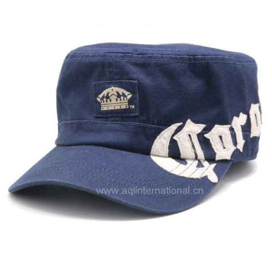 c6b837f9ec21b3 China 2018 Vintage Military Hat Jean Military Hat Flat Top Military ...