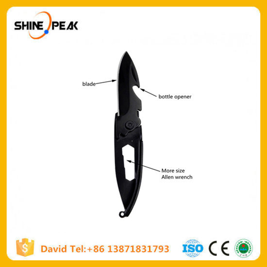 Multipurpose Knife Mini Keychain Multifunctional Multi Tool Key Pocket Letter Camp Outdoor Pare Peeler Peel Parcel Open pictures & photos