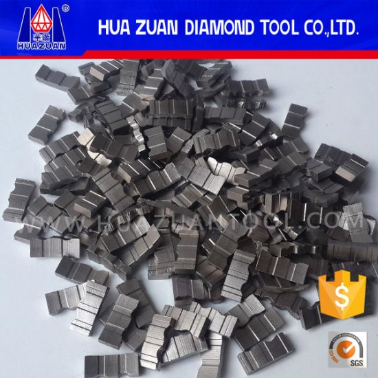 Diamond Core Drill Bit Segment for Construction pictures & photos