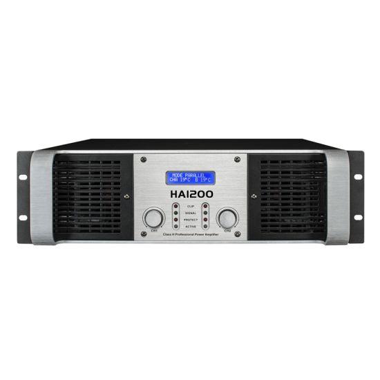 Smart Power Amplifier (HA2600, 1300Wx2, 8 ohms) pictures & photos