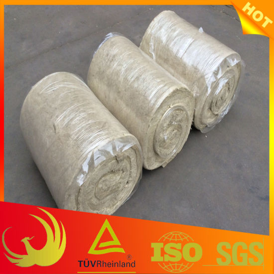 Stone Wool Pipe Insulation Material with Wire Mesh pictures & photos
