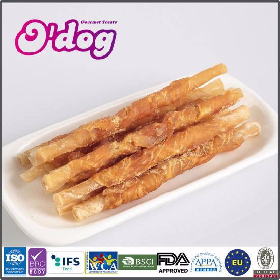Chicken & Cowhide Stick Dry Dog Food and Pet Snacks Manufacturers