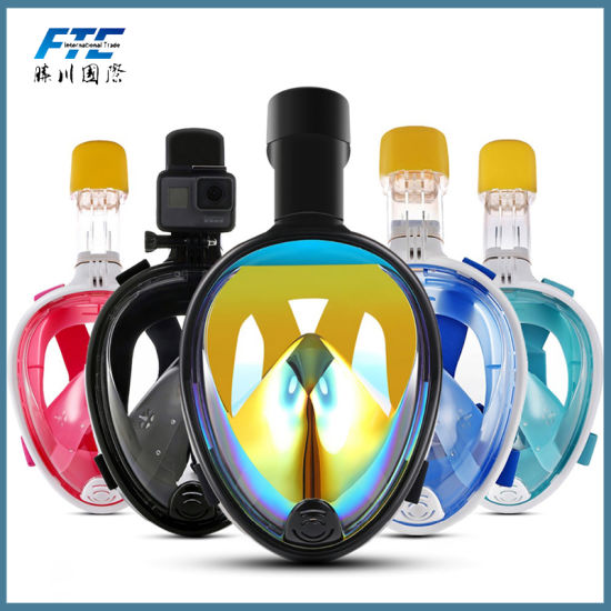 Anti-Fog Anti-Leak Swimming Snorkel Scuba Diving Mask pictures & photos