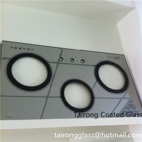 Color Coated Toughened Glass for Gas Burner Top pictures & photos
