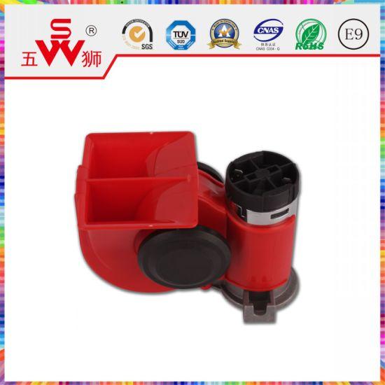 Red 125dB Air Snail Horn