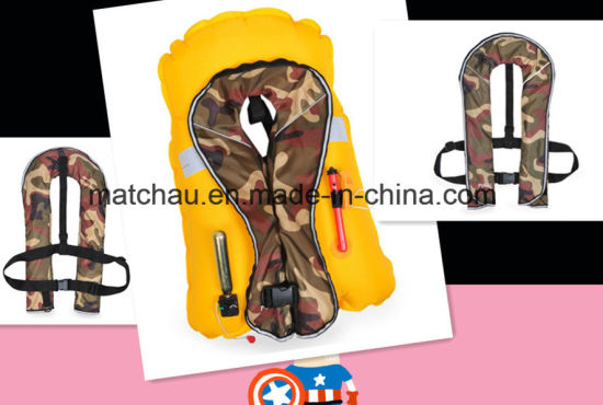 Cheapest Single Air Chamber Inflatable Life Jacket pictures & photos