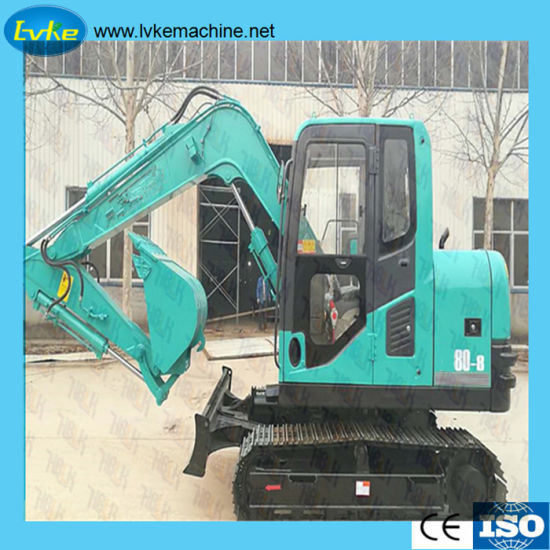 China Best Price Hydraulic Pressure Mini Excavator 7 5 Ton