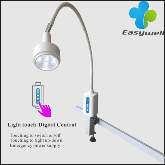 Surgical Equipment Rail Clamp Light Ks-Q6d LED Surgical Examination Light