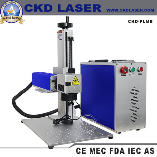 High Speed Portable Fiber Laser Engraver for Ceramic Semiconductor Wafer IC Grain pictures & photos