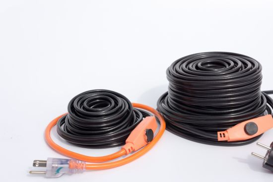 High Quality 120V Water Pipe Heating Cable for Frozen Pipes pictures & photos