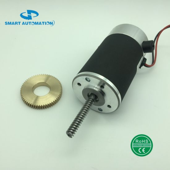 Special Customed Worm Shaft DC Motor Ce RoHS for Automatic Industry