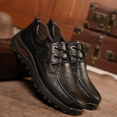 Hot Selling Fashion Men Casual Shoes Leather Shoes Footwear with Customized (JZ19627-10)