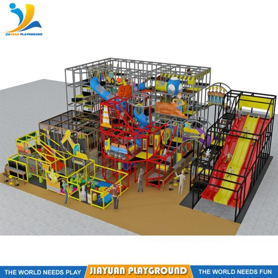 Free Design Large Kids Soft Play Equipment, Hot Sale Indoor Playground