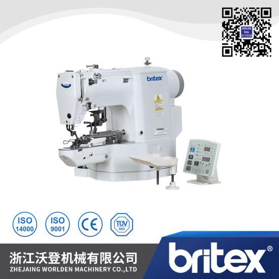 Br-438d Direct Drive Lockstitch Electronic Button Machine