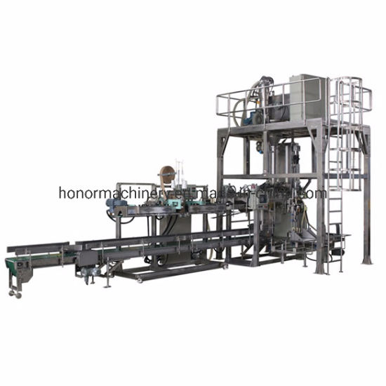 PLC Automatic Food Chemical Powder Weighing Filling Packaging Packing Machine