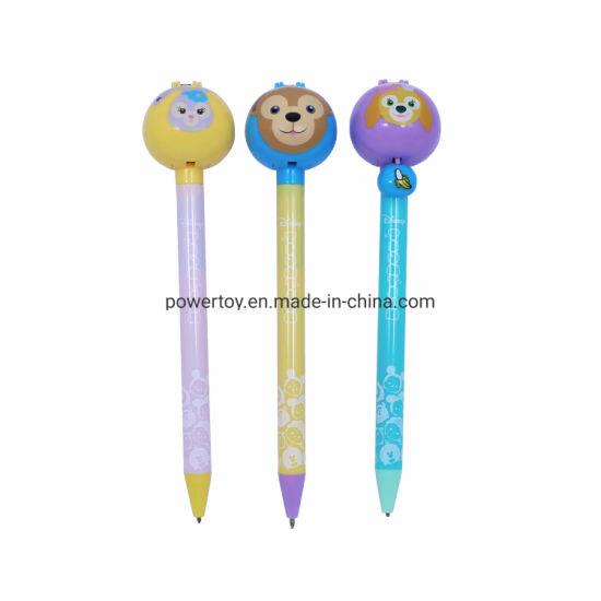 2019 New Fashion Cartoon Creative Animal Pen Metal Ballpoint Pen Custom Logo Ball Pen