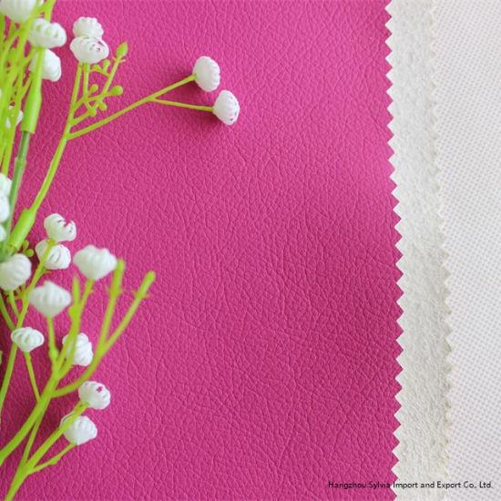 Soft Handfeeling Microfiber Leather for Furniture