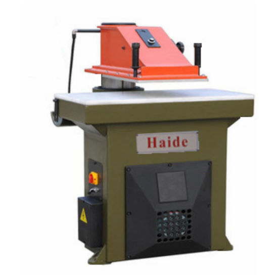 Swing Arm Leather Die Cutting Machine for Wallet