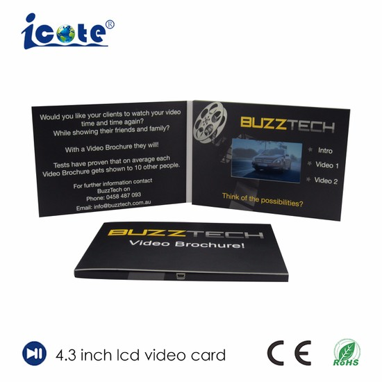 China hot selling a5 format 43 inch advertising card with lcd hot selling a5 format 43 inch advertising card with lcd reheart Image collections