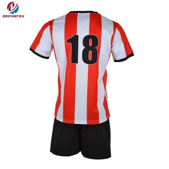 Latest Design Mens Jersey Football Sublimation Sportswear Customized Soccer Jersey pictures & photos