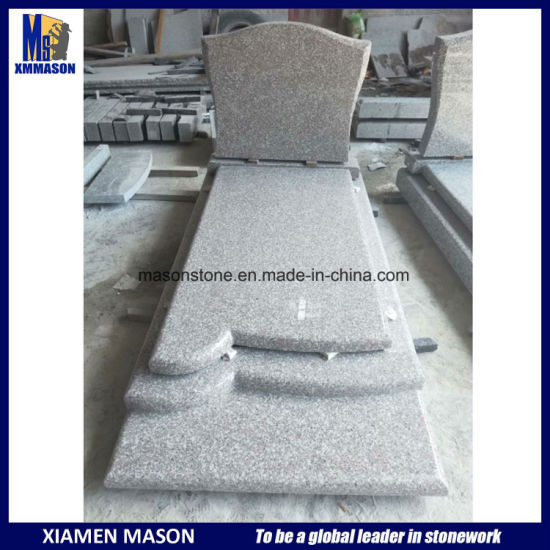 G664 France Simple Granite Tombstone pictures & photos