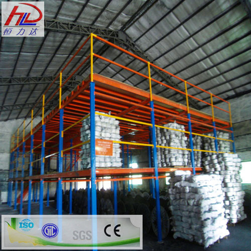 Adjustable Warehouse Multi-Tier Steel Racking pictures & photos