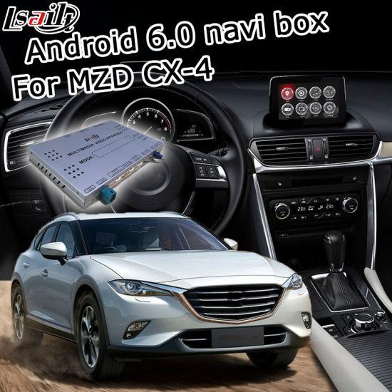 China Lsailt Android GPS Navigation System Box for Mazda Cx-4 Mzd
