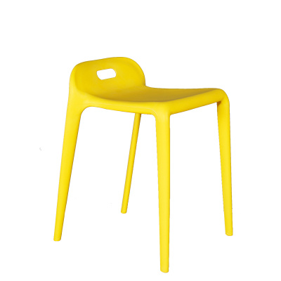 Yellow Stools and Chairs Plastic Furniture Manufacturers