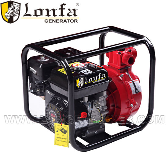 2inch Fire Gasoline Pump with Fire Hose and Follow Nozzle pictures & photos