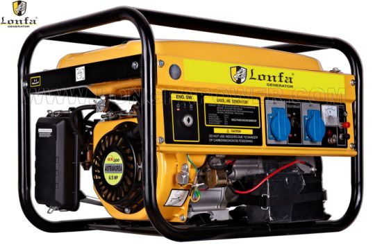6.5HP 2.5kw/2.5kVA Three Phase Silent Petrol Generator pictures & photos