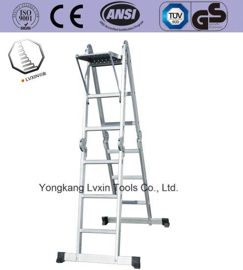 Easy to Use Folding Aluminium Ladder