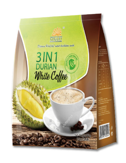 Sinari 4 in 1 Durian White Coffee Instant Coffee