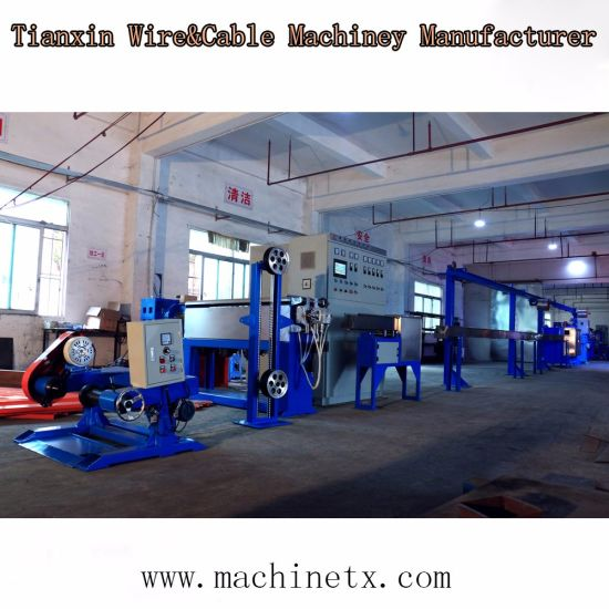 Building Cable and Wire Making Production Extrusion Machine Line