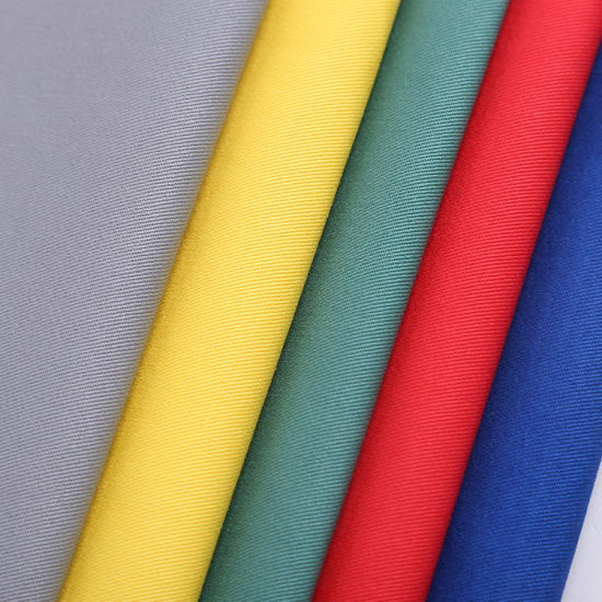 Tc Fabric Twill Dyed White or Custom Color for Hospital Nurse Medical Uniform Fabric